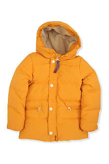 SCOTCH SHRUNK Hooded button padded jacket 4-14 years