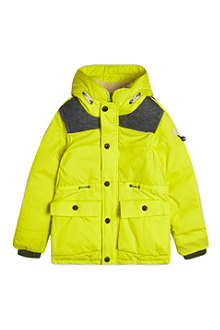SCOTCH SHRUNK Neon elbow patch jacket 4-16 years