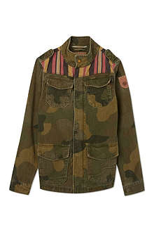 SCOTCH SHRUNK Army camouflage jacket 4-16 years