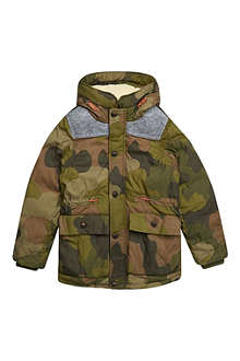 SCOTCH SHRUNK Camo elbow patch coat 4-16 years