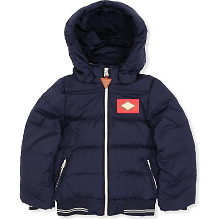 SCOTCH SHRUNK Basic down jacket 4-14 years (Navy