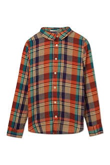 SCOTCH SHRUNK Checked shirt 4-16 years