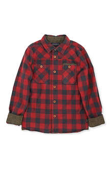 SCOTCH SHRUNK Checked shirt 4-14 years