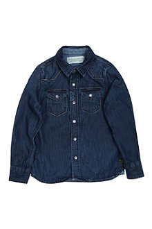 SCOTCH SHRUNK Denim shirt 4-14 years