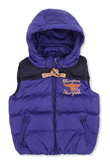 SCOTCH SHRUNK Quilted gilet 4-14 years