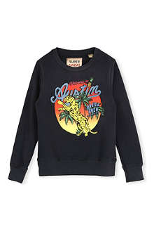 SCOTCH SHRUNK Graphic-print sweatshirt 4-16 years