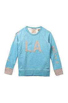 SCOTCH SHRUNK L.A. logo sweatshirt 4-16 years