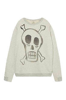 SCOTCH SHRUNK Skull detail sweater 4-16 years