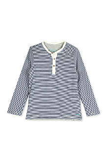 SCOTCH SHRUNK Double-layered striped top 4-16 years