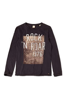 SCOTCH SHRUNK Long-sleeved rock top 4-14 years