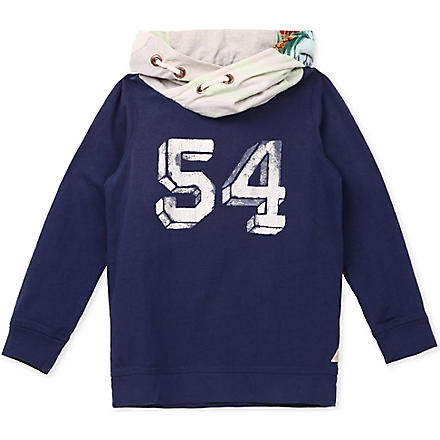 SCOTCH SHRUNK Crossover hoody 4-16 years (Navy