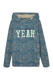 SCOTCH SHRUNK Yeah lightweight hoodie 4-16 years