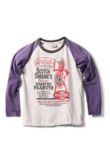 SCOTCH SHRUNK Printed raglan top 4-14 years