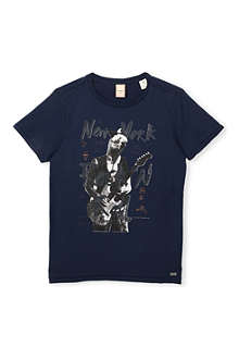 SCOTCH SHRUNK Rock'n'roll t-shirt 4-16 years