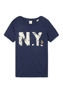 SCOTCH SHRUNK New York printed t-shirt 4-16 years