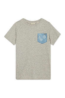 SCOTCH SHRUNK Contrast pocket t-shirt 4-16 years