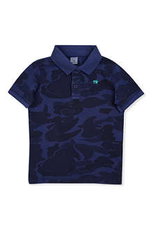 SCOTCH SHRUNK Camo polo shirt 4-14 years