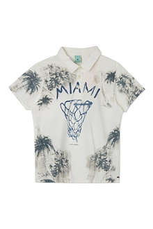 SCOTCH SHRUNK Miami polo t-shirt 4-16 years
