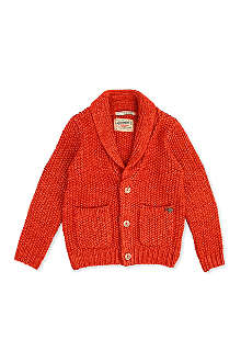 SCOTCH SHRUNK Knitted cardigan 4-16 years
