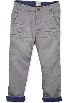 SCOTCH SHRUNK Turn-up trousers 4-16 years