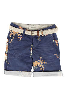 SCOTCH SHRUNK Floral shorts 4-14 years