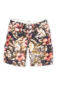 SCOTCH SHRUNK Flower print shorts 4-16 years