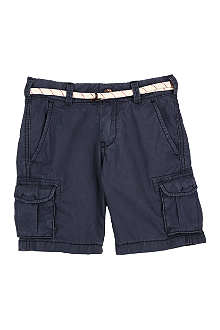 SCOTCH SHRUNK Cotton combat shorts 4-16 years