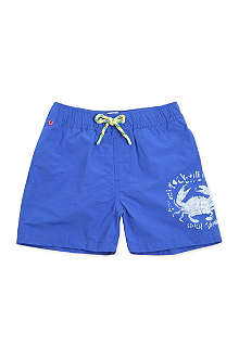 SCOTCH SHRUNK Printed swim shorts 4-14 years