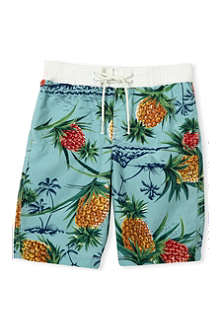 SCOTCH SHRUNK Pineapple-print swim shorts 4-16 years
