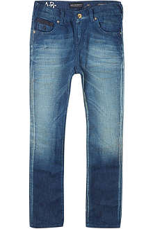SCOTCH SHRUNK Strummer blue jeans 4-16 years