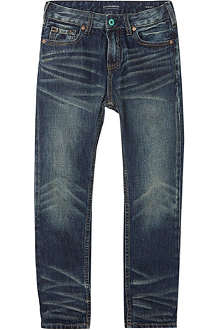 SCOTCH SHRUNK Dean blue well jeans 4-16 years