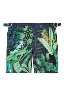 ORLEBAR BROWN Konstantin Kakanias jungle shorts 2-12 years