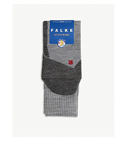FALKE Active warm & dry socks 3+ years (Grey