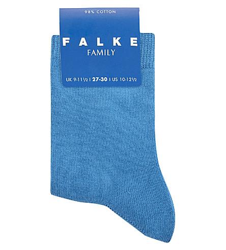 FALKE Classic cotton-blend socks (Blue