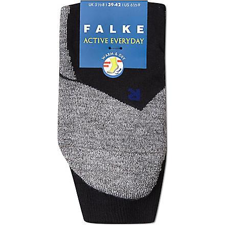 FALKE Falke active everyday socks (Black