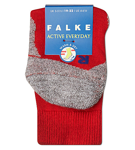 FALKE Falke active everyday socks (Red