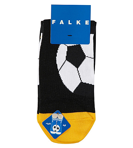 FALKE Football cotton-blend socks (Black