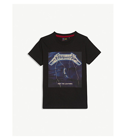 FABRIC FLAVOURS Metallica cotton t-shirt 1-10 years (Black