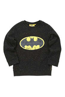 FABRIC FLAVOURS Batman jumper 3-8 years