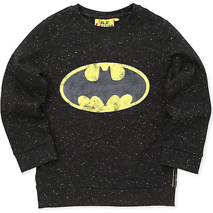 FABRIC FLAVOURS Batman jumper 3-8 years (Black