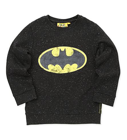 FABRIC FLAVOURS Batman jumper 3-8 years (Black