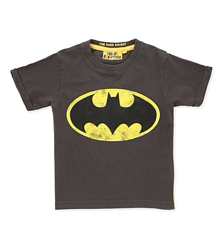 FABRIC FLAVOURS Batman T-shirt 3-8 years (Grey+marl
