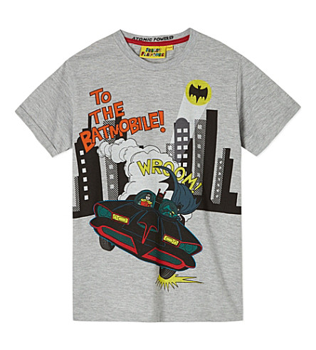 FABRIC FLAVOURS Batmobile t-shirt 3-10 years (Light+grey+marl