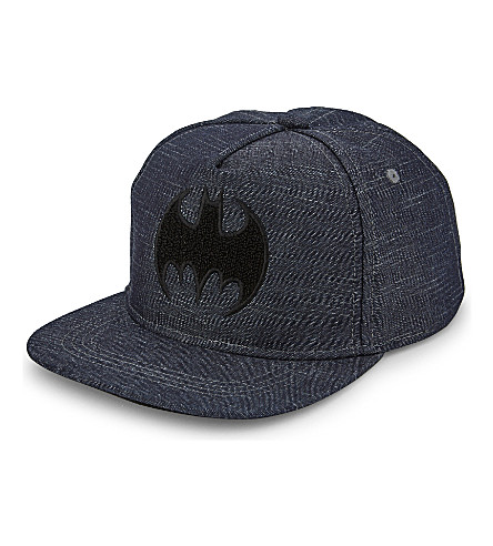 FABRIC FLAVOURS Batman 棉快速帽 (海军