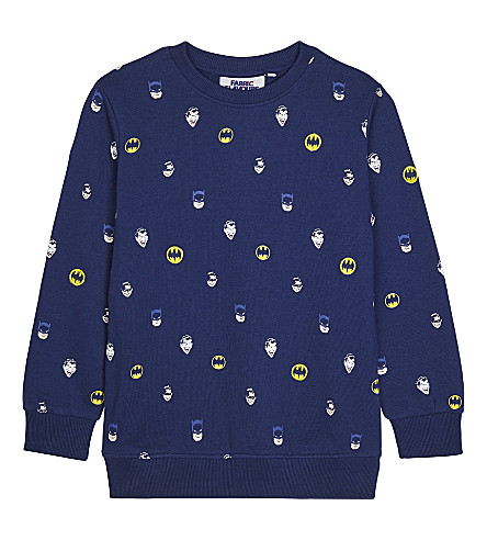 FABRIC FLAVOURS Batman embroidered sweatshirt 3-10 years (Navy