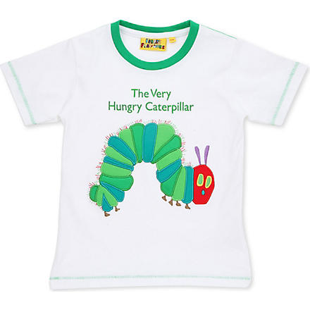 FABRIC FLAVOURS The Very Hungry Caterpillar t-shirt 1-6 years (White