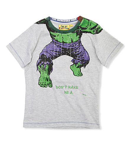 FABRIC FLAVOURS Headless Hulk t-shirt 3-8 years (Light+grey