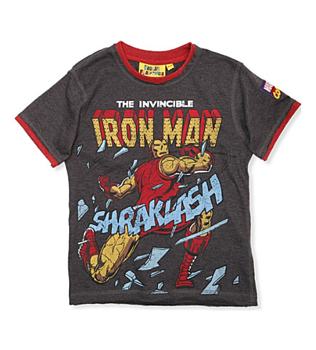 FABRIC FLAVOURS Iron Man t-shirt 3-8 years (Multi