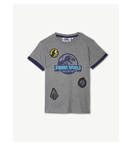 FABRIC FLAVOURS侏罗纪世界棉 t恤衫3-10年份 (黑色