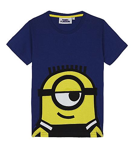 FABRIC FLAVOURS Minions appliqué cotton T-shirt 3-8 years (Blue